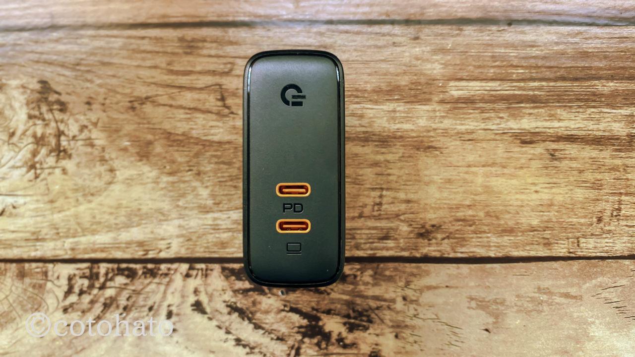 AUKEY ACアダプタ 充電器 USB-C 2ポート 急速充電器 アダプタ 63W GaN (窒化ガリウム) 採用